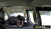 Elite British Prossie Fucks Lucky Cab Driver - Vickie Powell