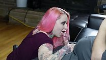 Pink Haired girl lick cock from teengirlcams.tk porn thumbnail