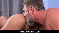 Latino twink step son practices on his bear step dad for his boy crush | vellamma sex thumbnail