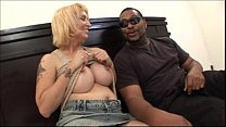 Big tits mom fucking black guys dick in Milf Bi...