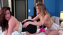 MOMMY'S GIRL - Mommy Wants a Kiss - Kendra Lust and Kristen Scott thumbnail