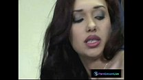 Cutie Nataly Brown gets a good pounding with Re...