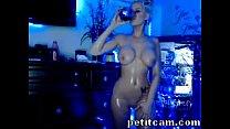 Blonde Camgirl And Her Amazing Body - petitcam.com