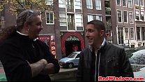 6634 Stunning dutch hooker cumsprayed by tourist preview