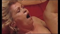 Sexy granny fucked by her young grandson porn image