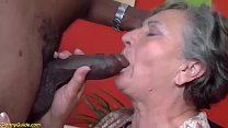 busty 80 years old granny first time interracia... Thumbnail