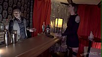 Bad girl with tattoos fucks bartender (Rocky Emerson) preview image