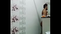 Swathi naidu latest bath video part-4