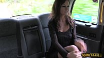 Provocative Posh woman tempts the cab driver to be her own driver preview image