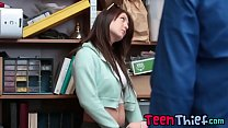 Slutty Teens Jojo And Rylee Making Up For Theft...