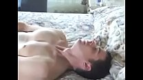 Gay Masturbation With Cumshot