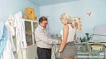 Mature Romana has old pussy gyno speculum examined thumb