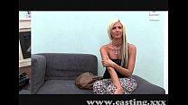 Casting Beautiful blonde babe thumbnail