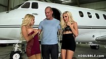 Fuck teens on my Private Jet! # Naomi Woods, Marsha May