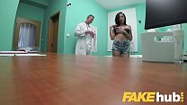 Fake Hospital Tattooed hottie squirts and orgasms whilst fucking czech cock