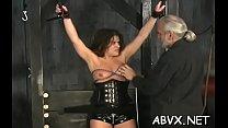 Teen obedient in extraordinary bondage xxx porn act