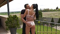Dane Jones Young Spanish darling with pert butt takes a mouthful of cum thumbnail