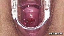 Wacky czech kitten spreads her narrow vagina to the maximum thumbnail