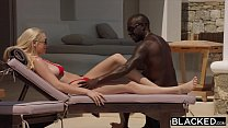 BLACKED Kendra Sunderland on vacation fucked by monster black cock thumbnail