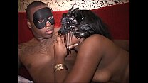 Trapeze club orgy masks turn hubbies and housew...