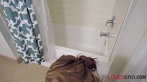 Shower Sex With Horny Blonde Teen SISTER- Holly Hendrix thumbnail