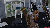 Vegeta tiene una pesadilla Goku se Folla a Su Esposa Bulma Delante de el Netorare Hentai صورة