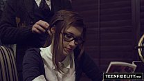 Teenfidelity Schoolgirl Cutie Alaina Dawson Creampied On Teacher 039 S Desk