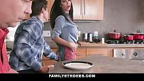 Eggs & Bacon Boning With MOTHER- Melissa Lynn - VideoMakeLove.Com