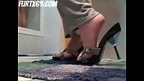 Sperma Auf Ihre Geilen Füße Gewichst