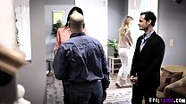Reluctant Teen Ivy Wolfe Cornered By Horny Cousin And Fucks With Him At Family Reunion.