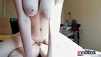 Fucked  Big Busty 18 Old Teen Brunette At Home