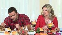 Moms Bang Teen - Naughty Family Thanksgiving thumbnail