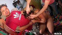 Rebecca Santos Prepara Seu Cabelo Para Uma Grav