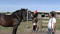 Pony-girl en Camargue