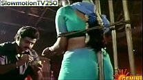 sexy actress ramya krishna showing her bare back   YouTube thumbnail