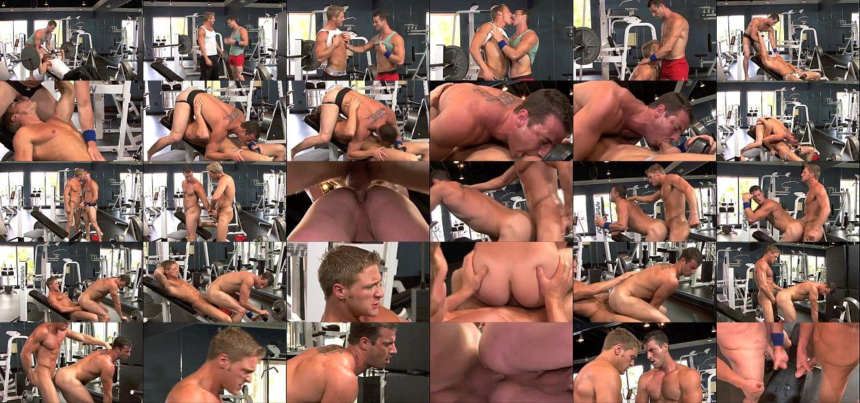 Muscle Gay Gym Buddies