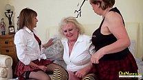OldNannY Mature Threesome Lesbian Masturbation Vorschaubild