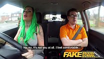 Fake driving school busty learner is wet and horny for instructors cock ◦ [kylie paige] thumbnail