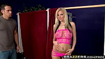 Brazzers - Baby Got Boobs - Slut Over scene starring Haley Cummings and Johnny Castle Preview