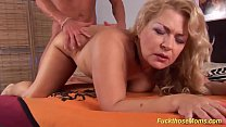 Free download video bokep chubby mom rough fucked by her toyboy