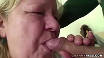 BBW Granny Loves Hot Dog With Young Dicky