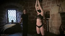 Kinky sex dungeon exploiting teens with bondage and BDSM صورة