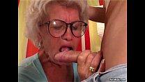 Granny Effie fucks video