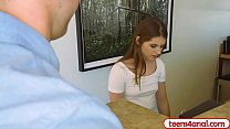 Petite teen anal fucked at home by internet repair guy Preview