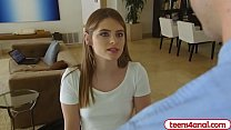 Petite Teen Anal Fucked At Home By Internet Repair Guy