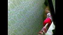 Ladies hostel girl caught bathing n dressing up
