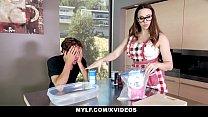 MYLF - Perfect Tits Milf Blows Her Stepson - 69VClub.Com