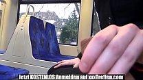 Deutsches teen Wichst Spanner in Der Strassenbahn den schwanz