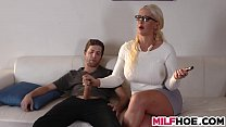 Stepdaughters Boyfriend Seduced By Mom image