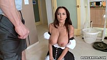 Sexy MILF in Maid Outfit - 9Club.Top